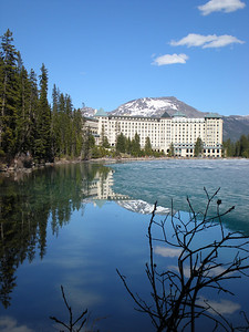 Chateau from across Lake Louise