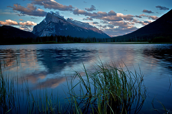 Mt Rundle Summer