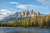 Castle Mountain, Bow River
