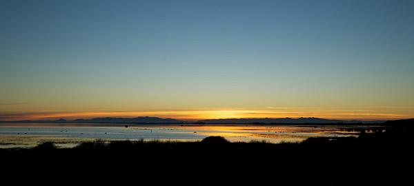 Lake Ellesmere at Dusk