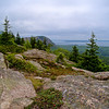 The Edge of the Beehive from Gorham: Acadia National Park, Bar Harbor Maine 2008
