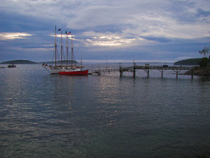 The Marie Todd at Dawn: Acadia National Park, Bar Harbor Maine 2008