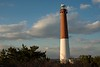 Barnegat Lighthouse and clouds