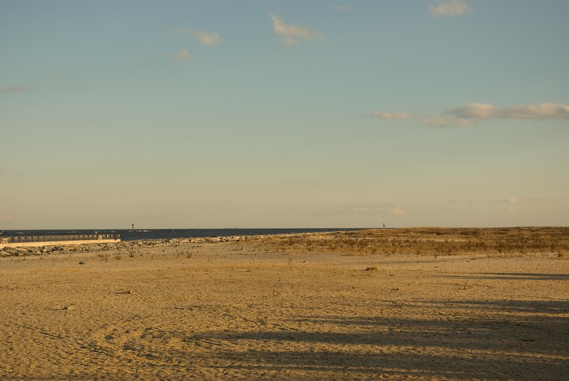 Beach at Barnegat Lighthouse