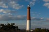 Barnegat Lighthouse with beautiful blue sky