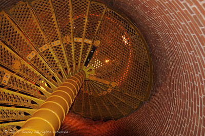 winding staircase to the top