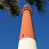 Barnegat light : Barnegat light on Long Beach Island, New Jersey