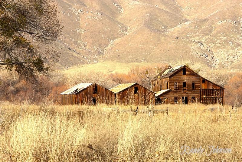 Old Flour mill Oynx Calfornia
