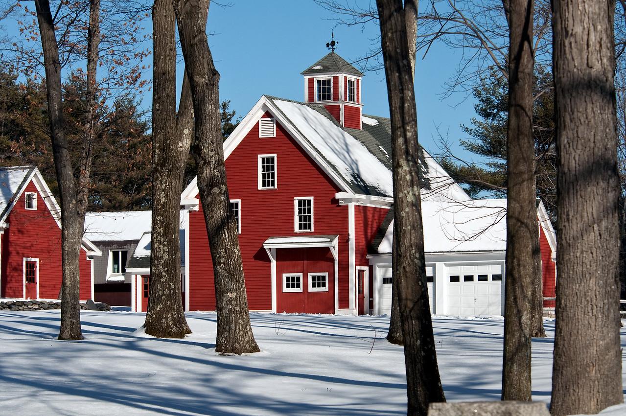Lancaster, MA barn