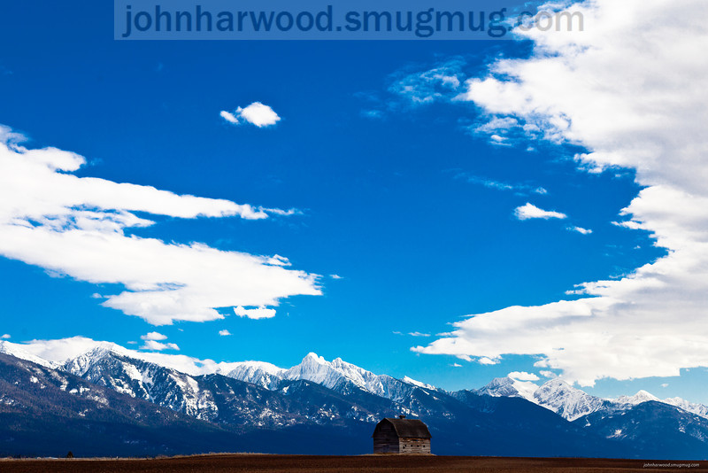 Barn near Ronan, Montana