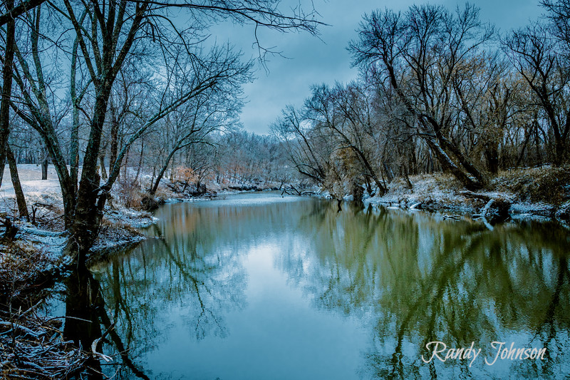 Winter on the Marmaton river at Gunn Park Ft Scott Ks. 12/16/2019