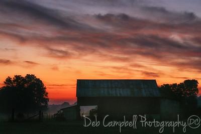 Duncan Barn Sunrise