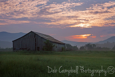 A Smoky Mountain Sunrise Townsend, Tennessee