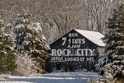 Rock City Barn (hwy 129)