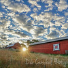 Red Barns at Daybreak