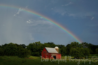 Red Barns and Rainbows