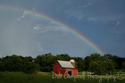 Red Barns and Rainbows