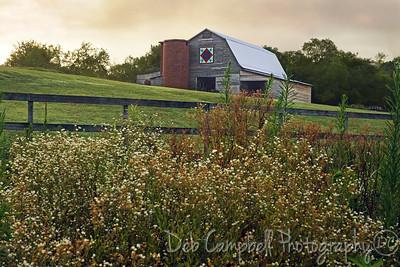 Quilt Barn #2 Seven Islands State Birding Park Kodak, Tennessee