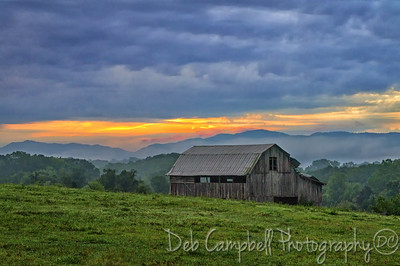 Dawn in the Foothills of the Smokies Blount County, Tennessee