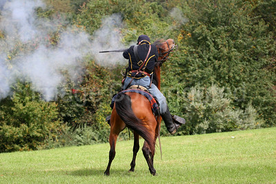 Cavalry Soldier Shooting - 10/27/06