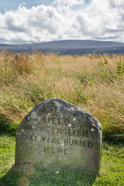 The English Mass Grave, Culloden Battlefield, Scotland