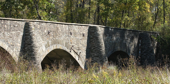 Goose Creek Stone Bridge, Upperville battlefield