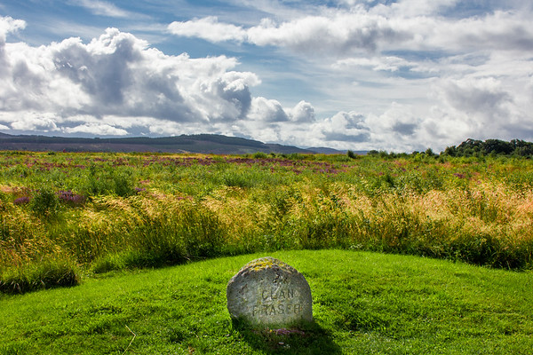 The Fraser's Mass Grave, Culloden Battlefield, Scotland