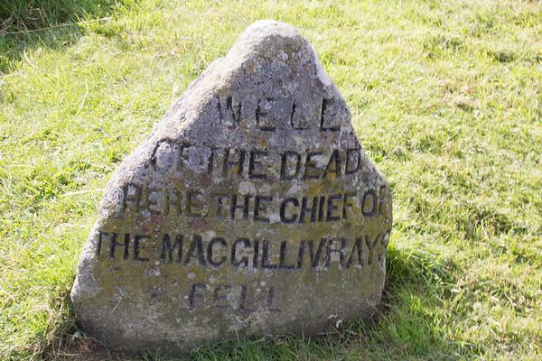 MacGillivrays Mass Grave, Culloden Battlefield, Scotland