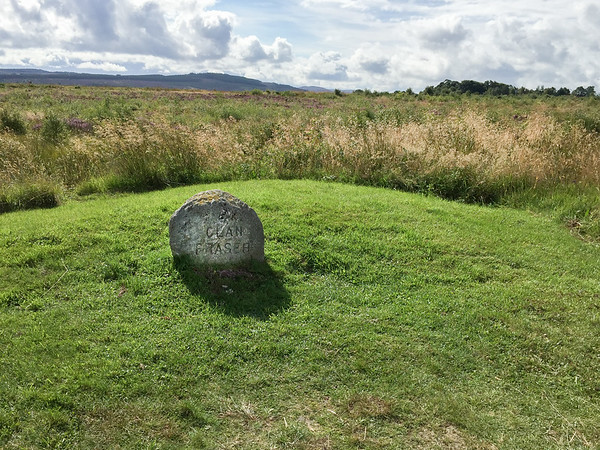 Clan Fraser mass grave at the Culloden Battlefield, Scotland.