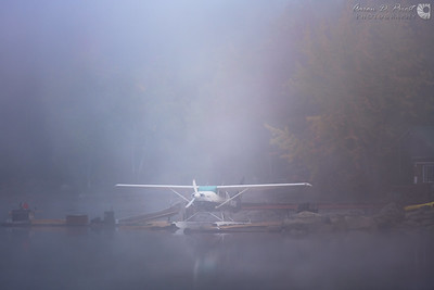 Katahdin Air in the Morning Mist