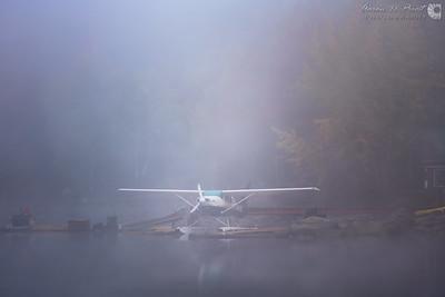Katahdin Air in the Morning Mist