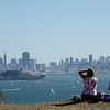 Angel Island: nice view of San Francisco.