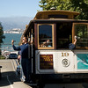 "Say ""cheese""! A cable car multimedia ride on Hyde Street."