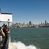 A ferry returning to San Francisco.