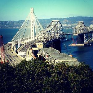 bay bridge cell phone photos