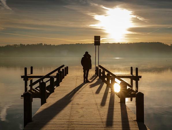 Starnberg Silhouette