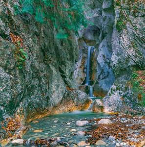 HeckenBach Waterfall