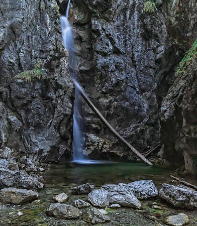 Lainbach Waterfall I