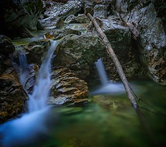 Lainbach Waterfall II
