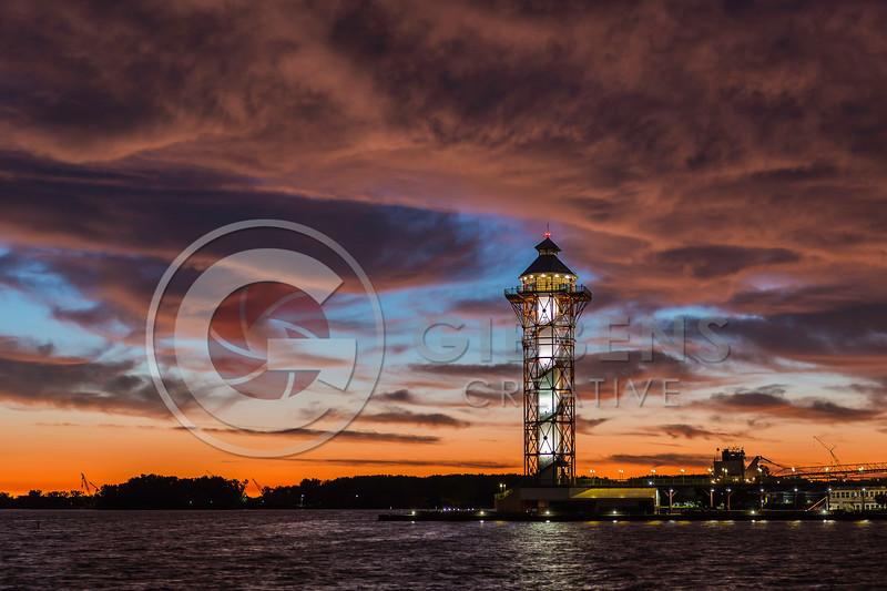 Bicentenial Tower Sunrise June 18