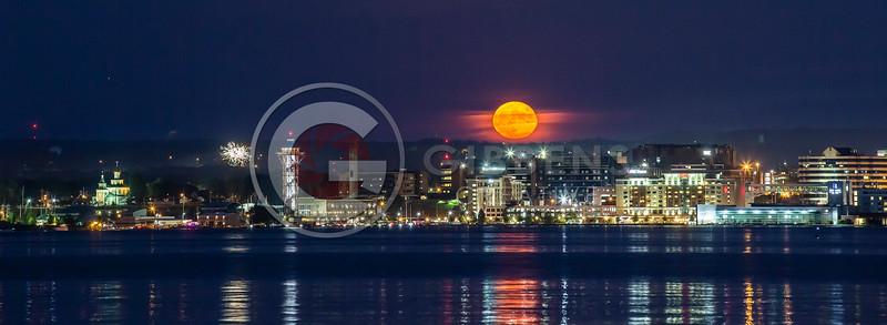 Full Moon West Pier