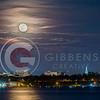 Bayfront Full Moon From Niagara Boat Launch