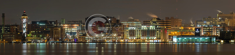 BCC & Hotel From West Pier Panno