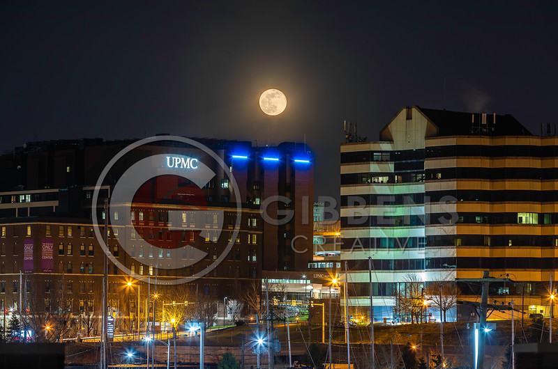 Hamot Full Moon Blue Lights