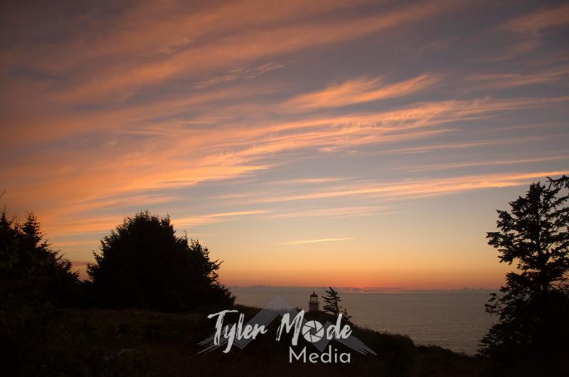 279  G North Head LH Sunset Wide