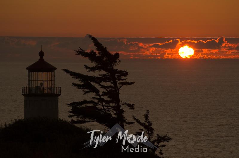 233  G North Head LH Sunset