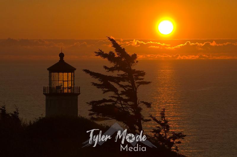 193  G North Head LH Sunset
