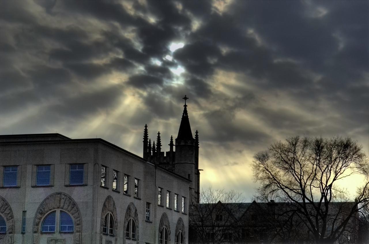 Northwestern University, March.