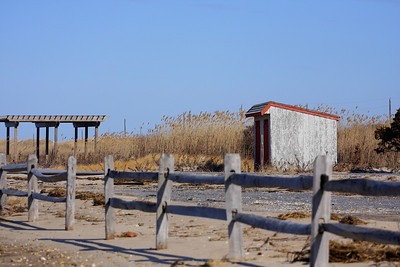 Dune Road, between Westhampton Beach and Hampton Bays, NY.
