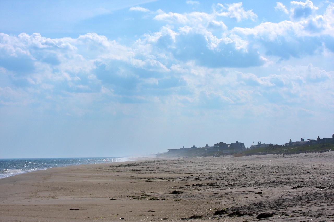 Dune Road, between Westhampton Beach and Hampton Bays, NY.